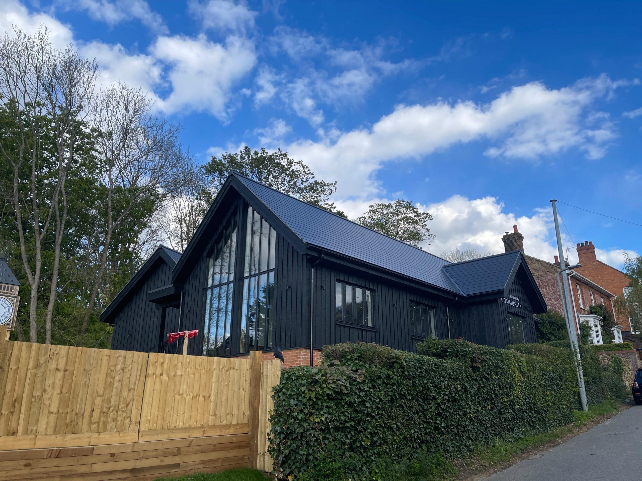 Bow-Brickhill-Community-Hall-Timber-Frame-Manufacturer